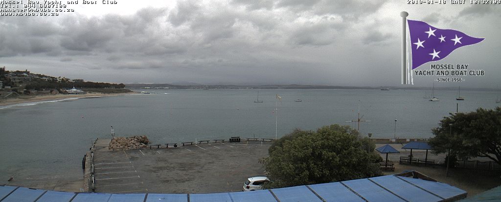 Webcam from the Mossel Bay Yacht and Boat Club