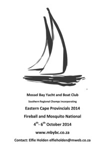 Eastern Cape Provincials 2014 @ Mossel Bay Yacht and Boat Club | Quinlan | Texas | United States