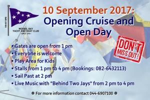 Opening Cruise & Open Day @ MBYBC